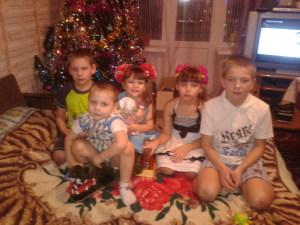 Дети семьи